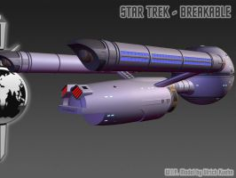 I.S.S. DAEDALUS for STAR TREK - BREAKABLE ISO-05 by ulimann644