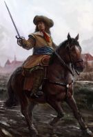 German Mercenary of the Thirty Years War by Mitchellnolte