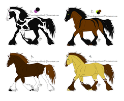 more draft horses for sale by NeonFlamez