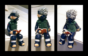Kakashi figure by Jequila