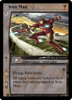 Iron Man Magic Card by WoodenOx