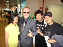 With Roger Taylor by bbmbbf