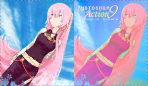Photoshop Action 9 by NeotakuxWendy