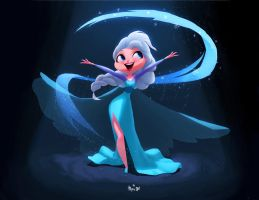 Let it GO! by Pepe-Navarro
