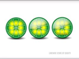 Limewire Dock Icons PNG by dioxity