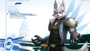 Wolf O'Donnell Wallpaper by JECBrush