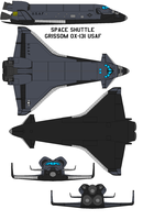 Space shuttle  Grissom OX-131 USAF by bagera3005