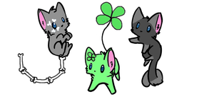 Kitten Adoptables #1 by EggAdopts