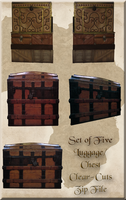 Luggage and Storage trunk tubes by WDWParksGal-Stock