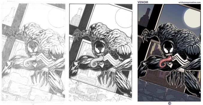 Venom Process by EricKenney