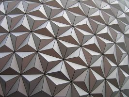 Epcot Spaceship Earth Stock 13 by AreteStock