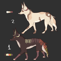 Horned Canine Adobts -Closed- by DYSPH0R1A