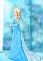 Elsa - The Snow Queen by ra-chan-ra
