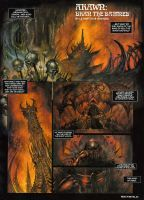 ARAWN a page in english by sebastien-grenier