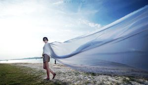 In White Fabric 02 by dearchivism