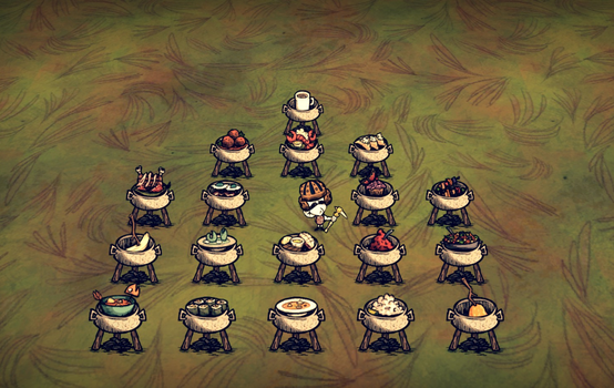 Don't Starve-food by doydoy1956