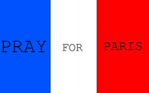 Pray For Paris ~ by thedreamywolf