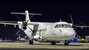 AeroNova ATR resting with the other bizzjets by Kripppics