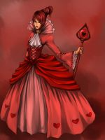 Queen of Hearts by kimikiwi48