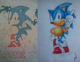 The Hedgehog 1996/2015 by gldzx