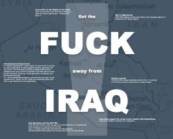 Fuck Iraq by valis
