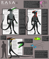 Rasa Species Reference by fullmetalshadowwolf