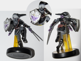 Custom Dark Link Amiibo by Dornogol