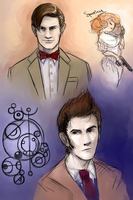 Doctor who 10and11 by YumikoUA
