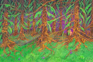 Wishwood Forest by the-surreal-arts