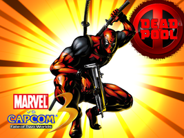 Deadpool wallpaper by CrossoverGamer