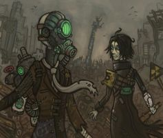 Wastelanders by CyborgNecromancer