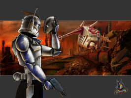 Captain Rex Celebration V art by kohse