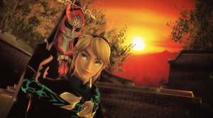 {MMD}{LoZ}{MidLink} Height difference by UniTheLucario