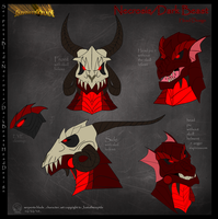 serpents blade: necrosis heads by Justathereptile