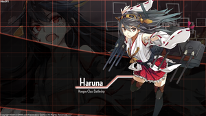 [Kantai Collection] Haruna Wallpaper by shadowmilez