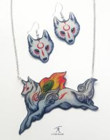 Okami Jewelry Set by TrollGirl