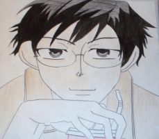 Kyoya Ootori by AnimeCrazy25