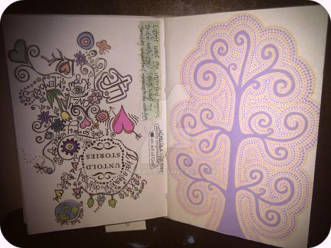Page from my art journal #2 by PiPaRaY