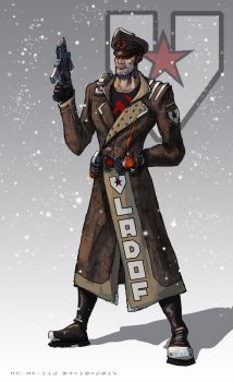 Borderlands: Vladof's commissar by AspectusFuturus