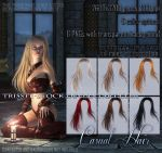 Casual Hair #1 STOCK by Trisste-stocks
