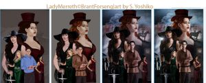 Lady Merreth Poster Stages by SYoshiko