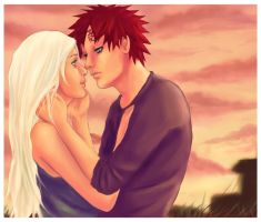 Gaara and Noah by girlUnknown