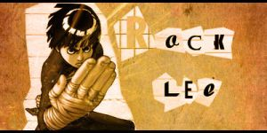 Rock Lee Collage by Creativetasks