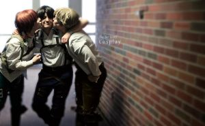 Trio- SNK by TheBetIsOff