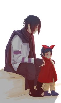 Sasuke Sarada Part 3 by Fey-Rayen