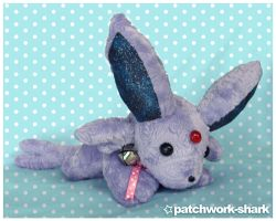 Patchwork Espeon by Patchwork-Shark