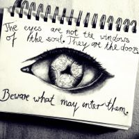 Eyes-Doors of the soul (Doctor Who) by DrawingFangirl