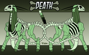 Commission: Steed of the Apocalypse - Death by VexVersion