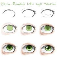 Misia Panda's little eyes tutorial by MisiaPanda