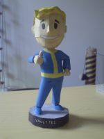 Fallout 3 Bobblehead by SpottyBulboid